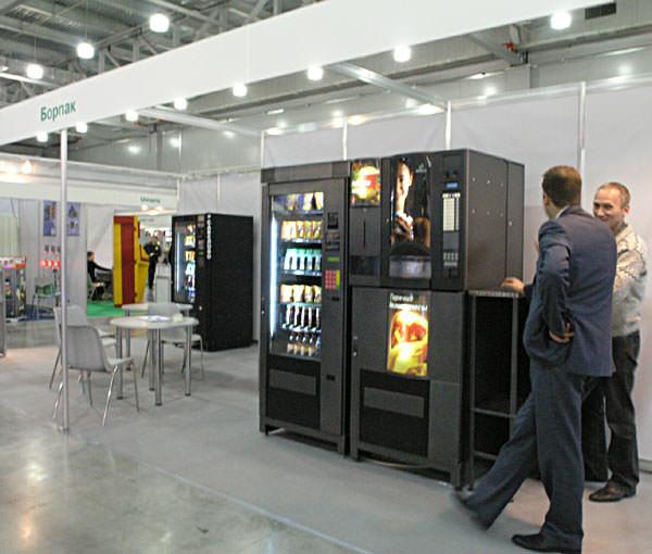 Кофе-автомат - хороший вид франшизы для маленького города