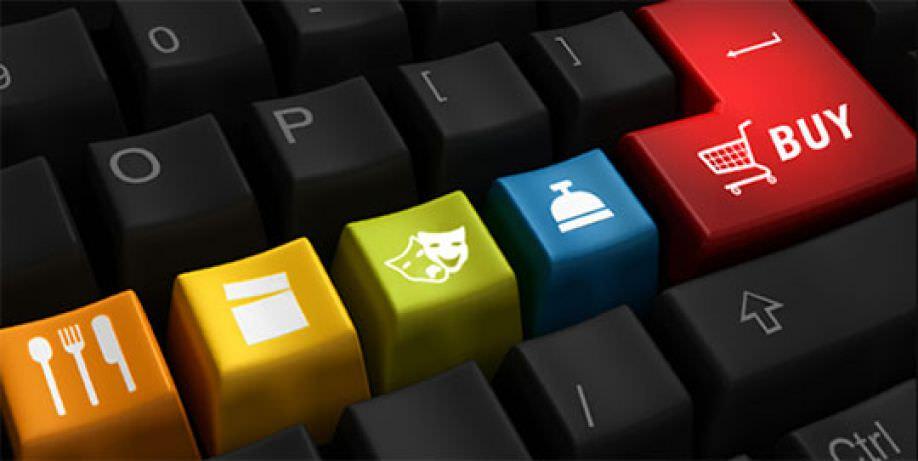 Клавиатура с кнопками Интернет-магазина